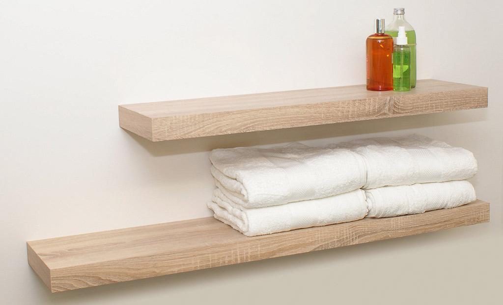 5 floating shelves