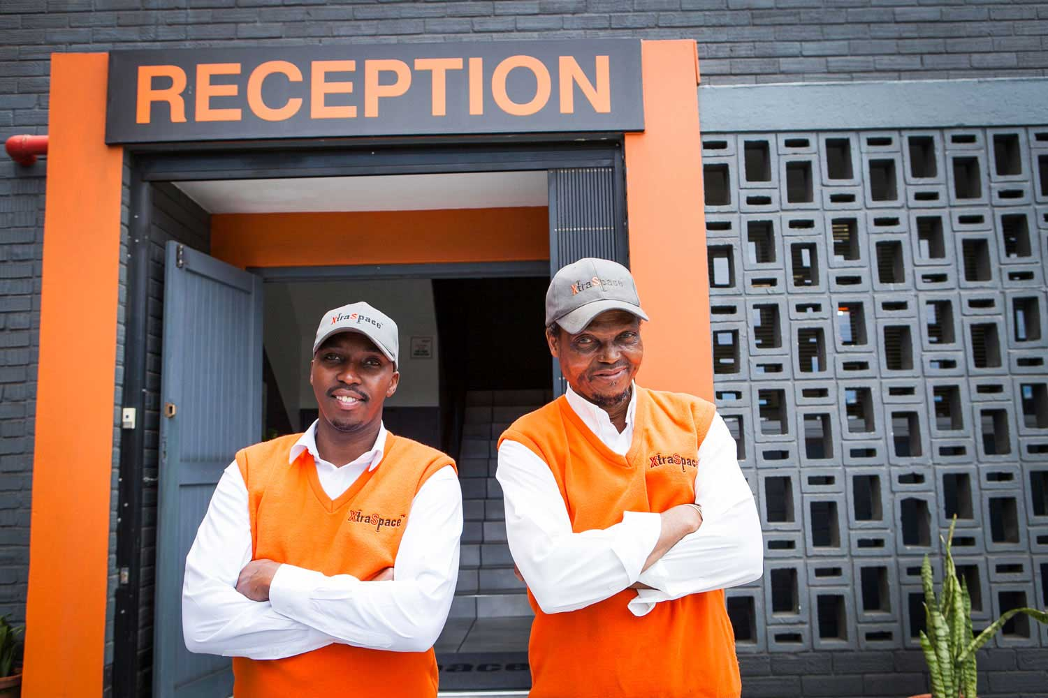 The entrance to the XtraSpace Durban Central self storage facility