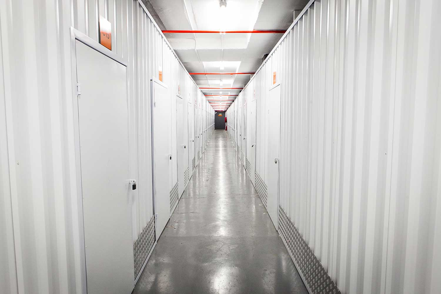 Indoor self storage units at XtraSpace Durban North