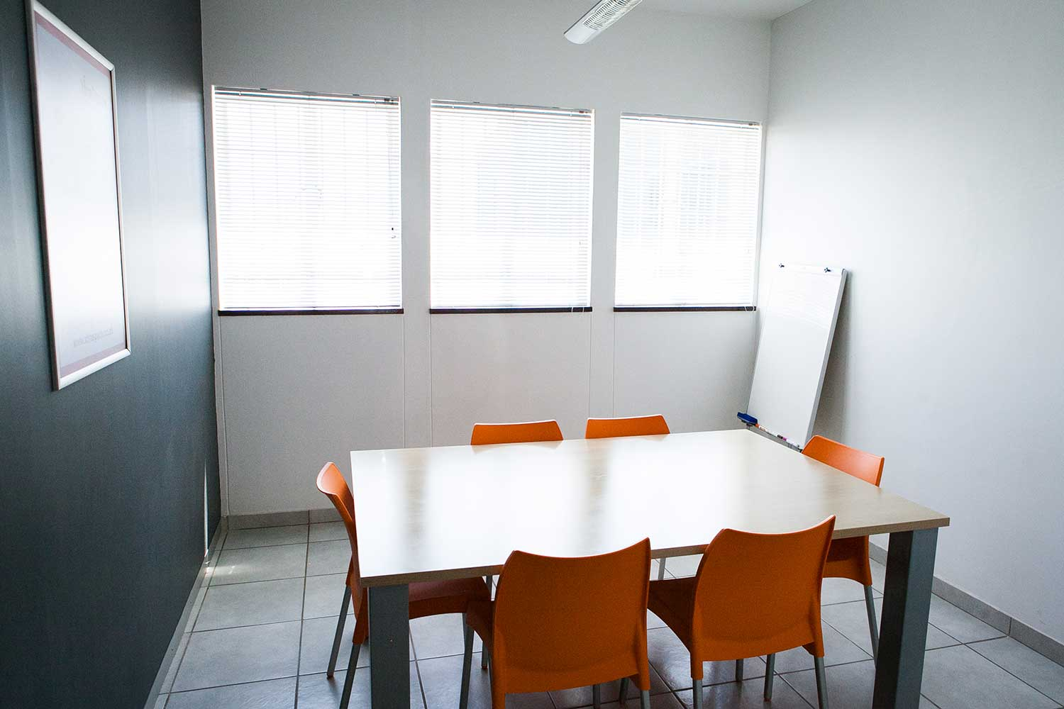 Flexi office meeting room at XtraSpace Booysens