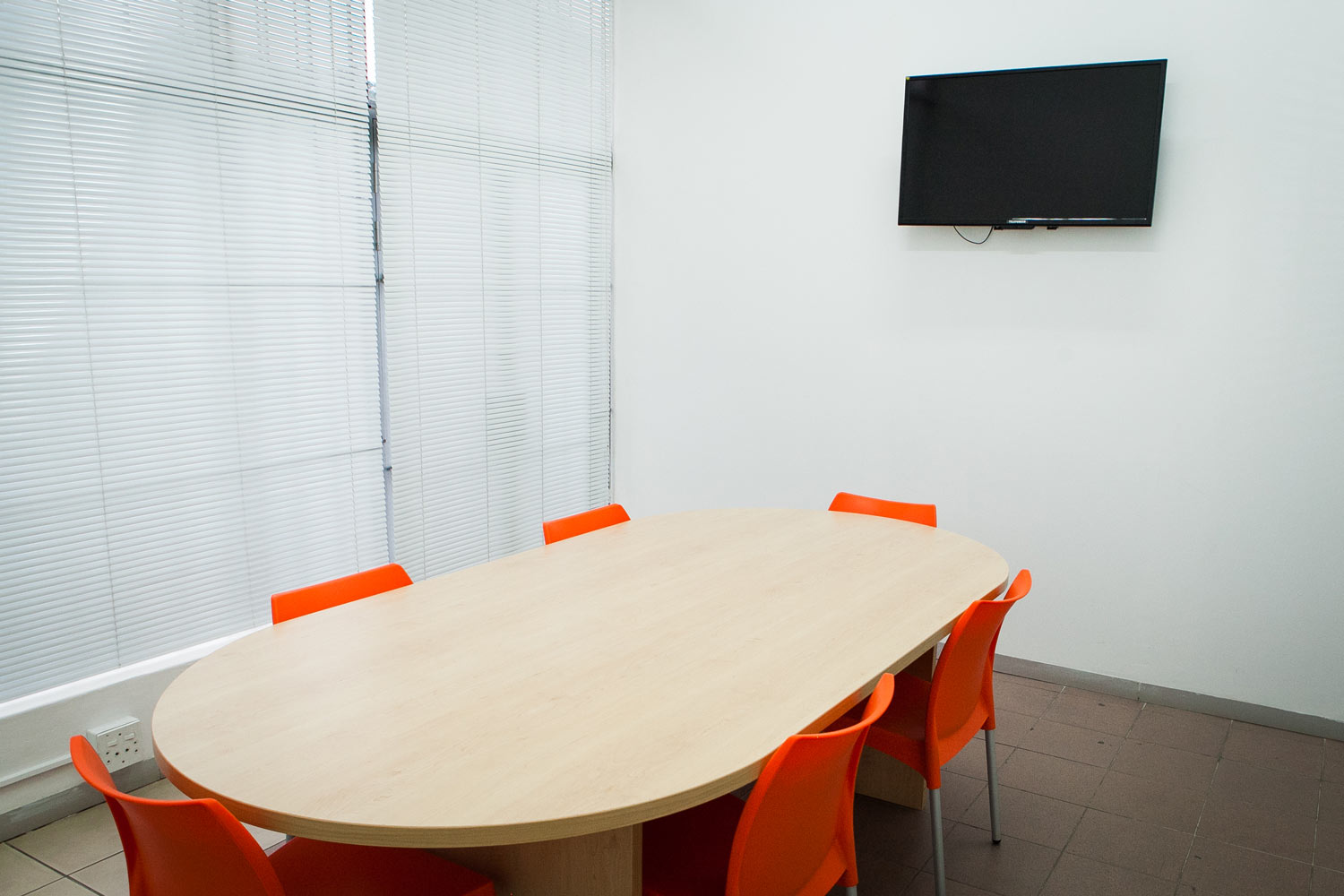 Meeting room at XtraSpace Durban North