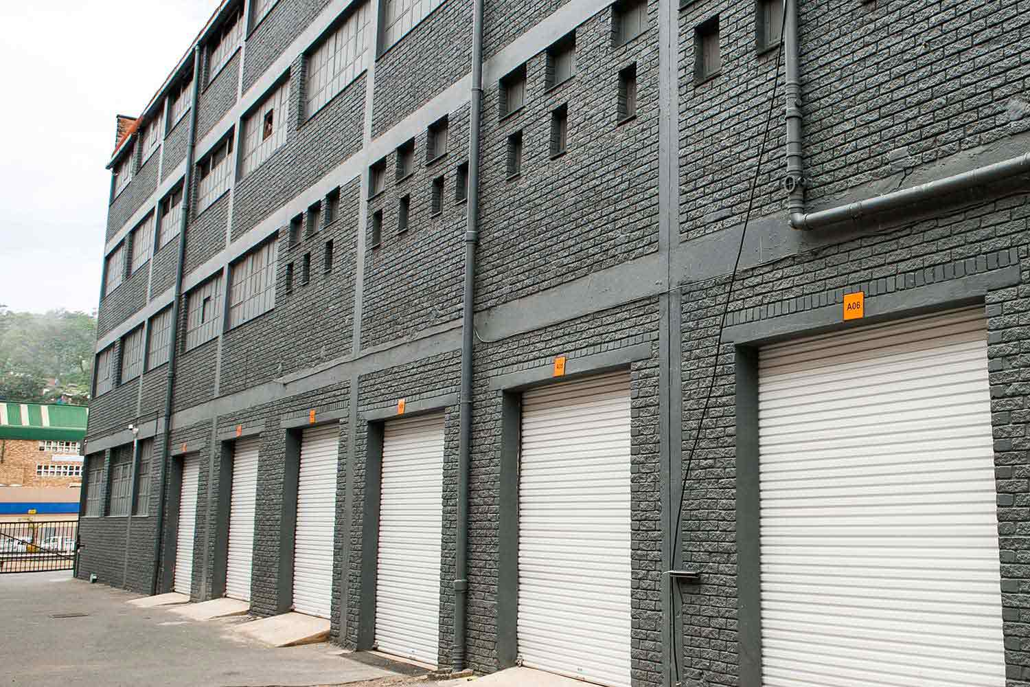 Outdoor self storage units at XtraSpace Durban North