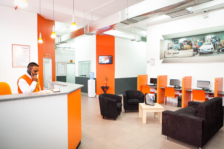 Reception at XtraSpace Durban North