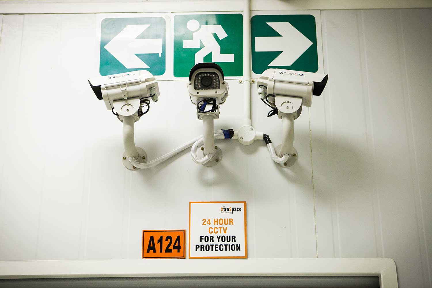 Security cameras at XtraSpace Commissioner Street