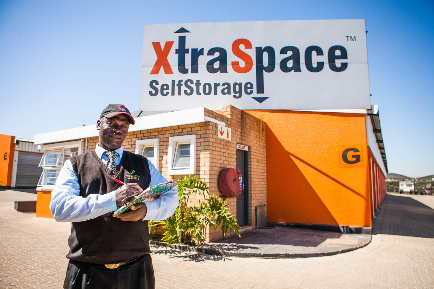 Onsite security at XtraSpace Edenvale South