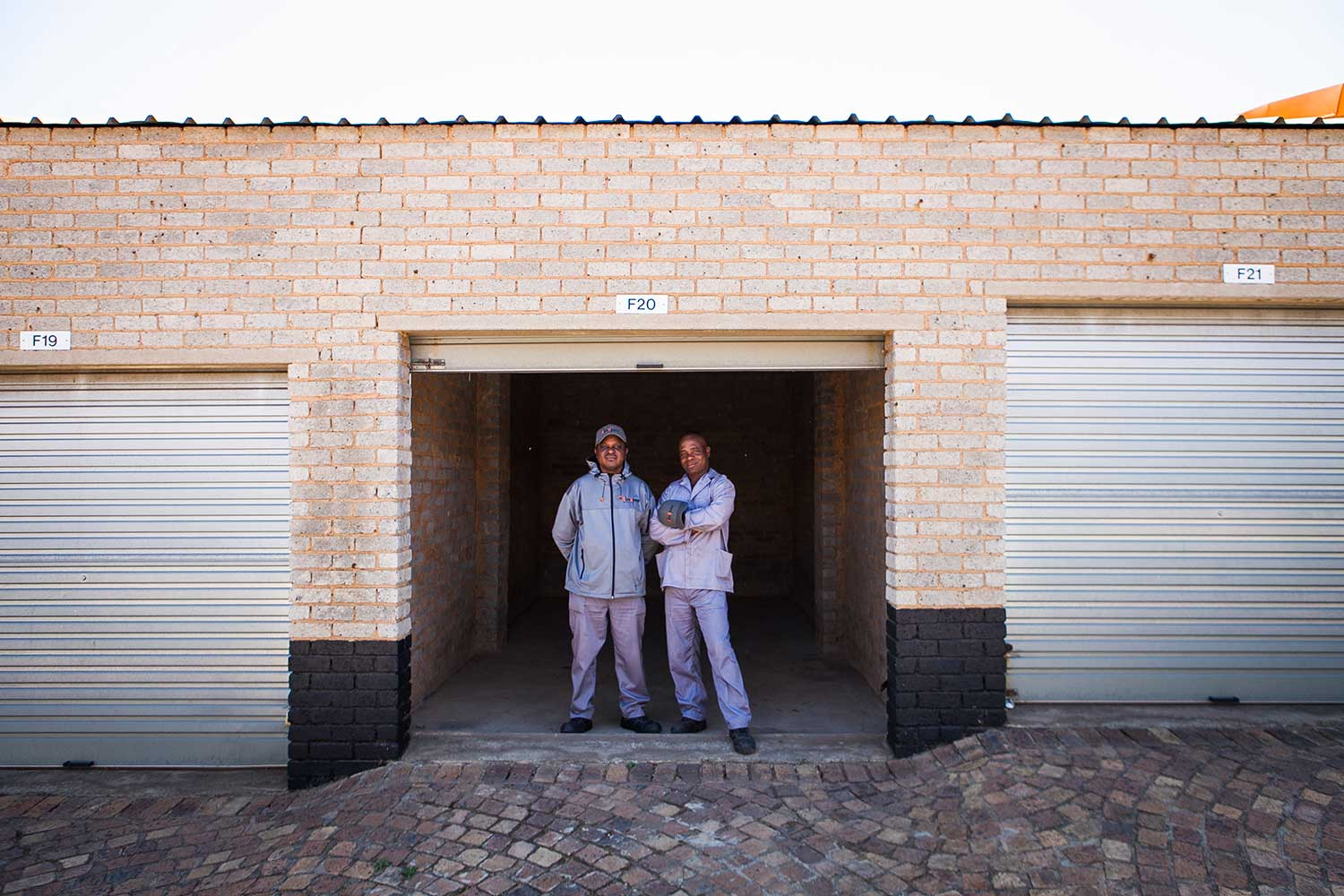 Self storage unit at XtraSpace Edenvale North
