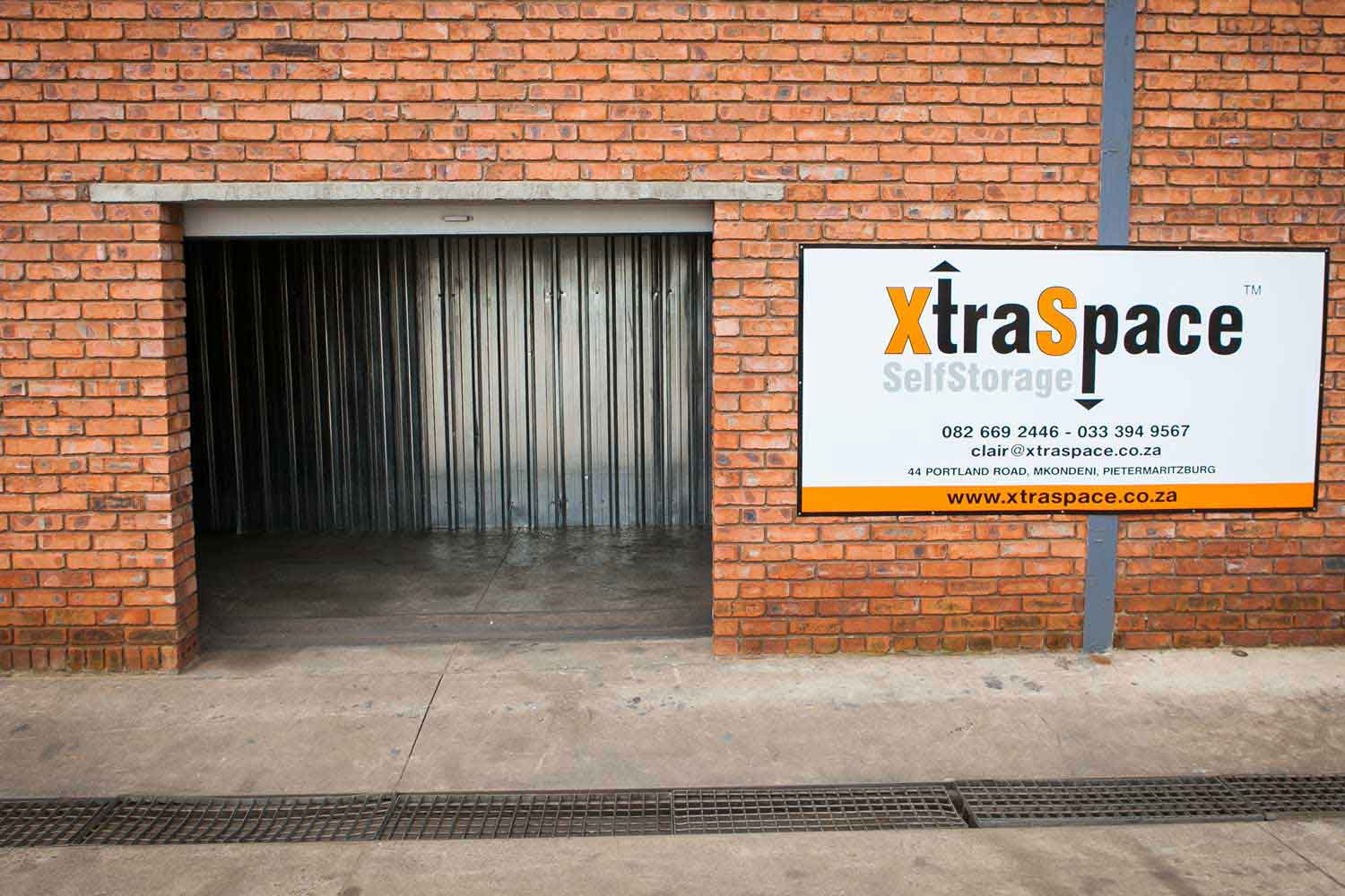 Self storage unit at XtraSpace Mkondeni