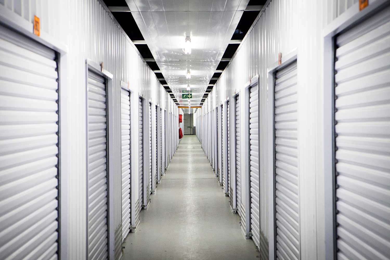 Self storage units at XtraSpace Booysens