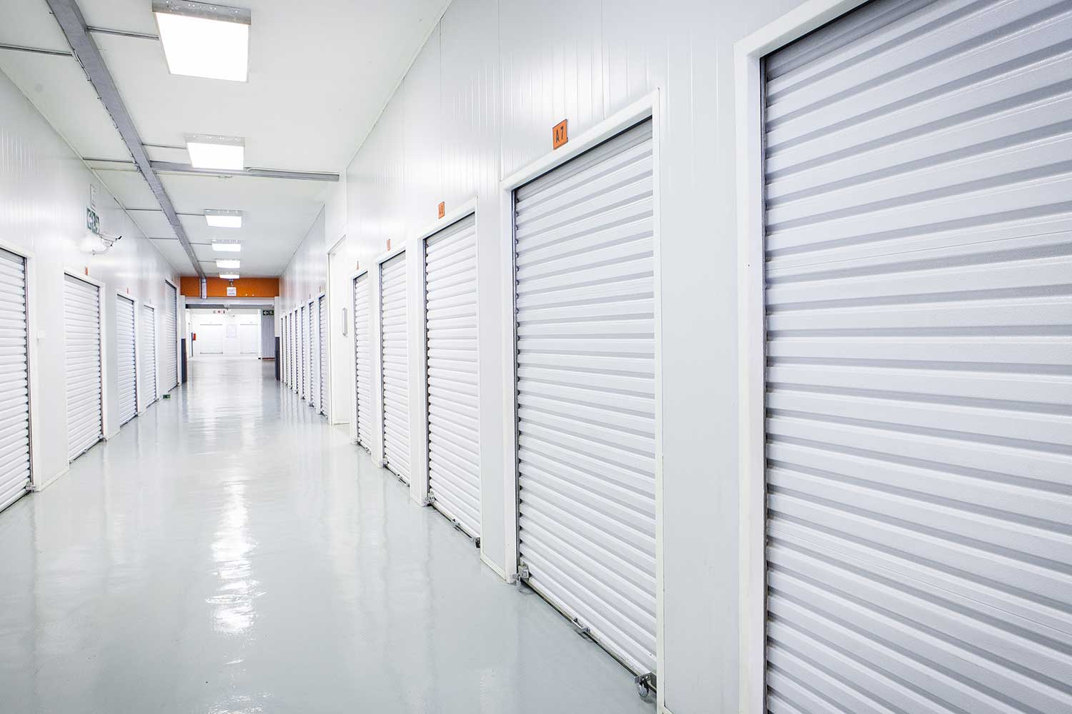 Self storage units at XtraSpace Commissioner Street