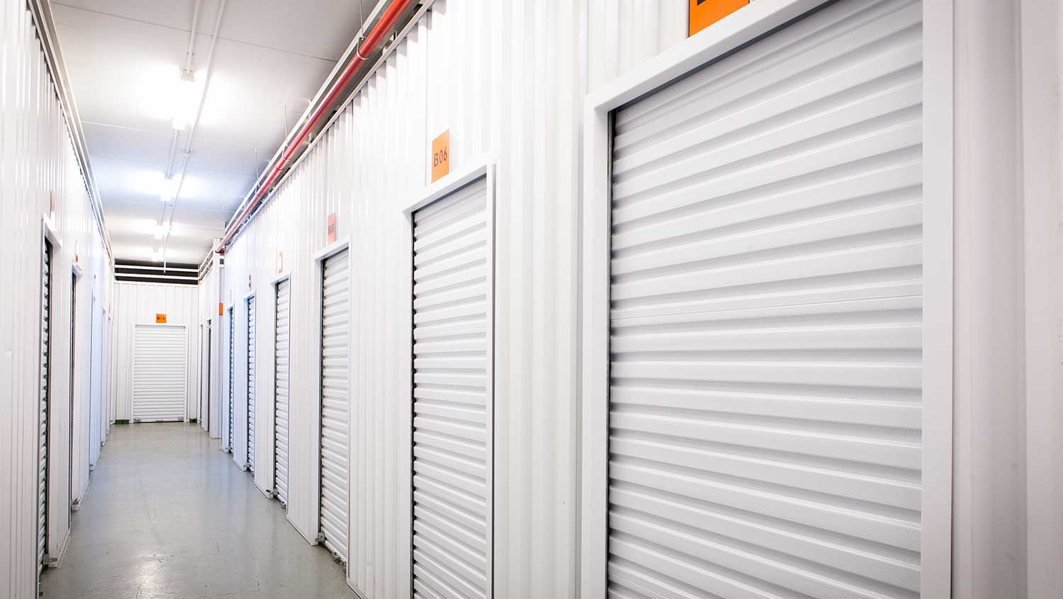 Self storage units at XtraSpace Durban Central