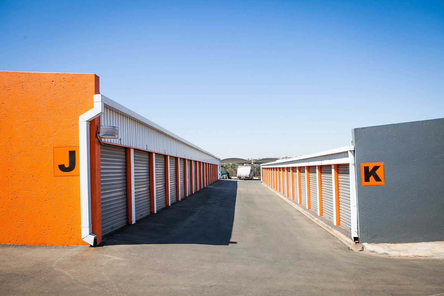 Self storage units at XtraSpace Edenvale South
