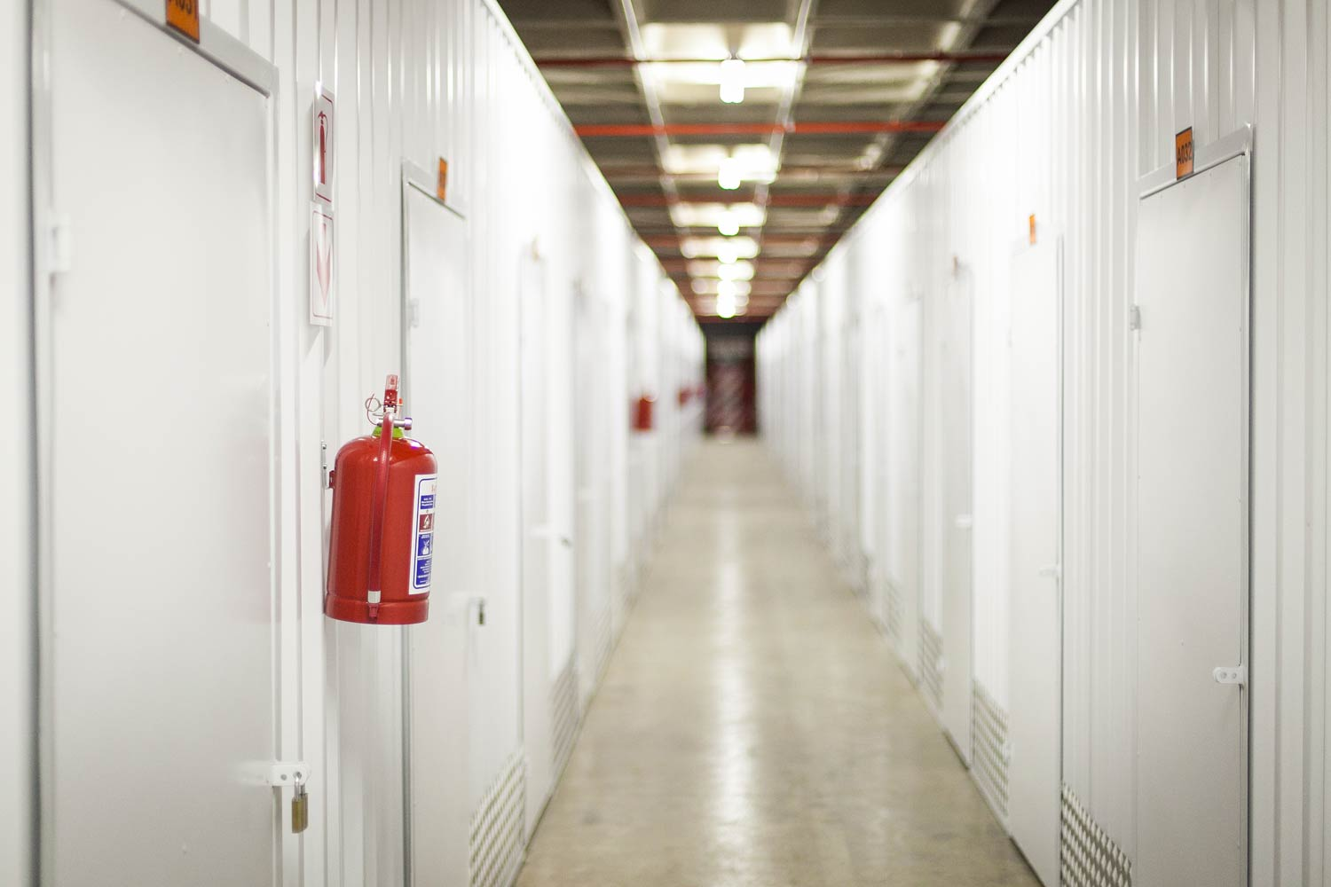 Self storage units at XtraSpace Willowton