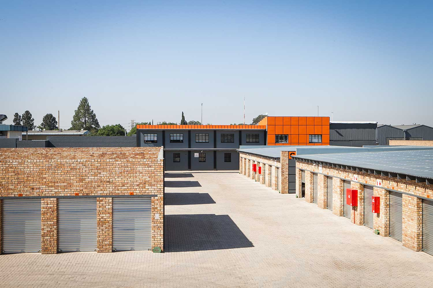 The XtraSpace Vereeniging self storage faciltity