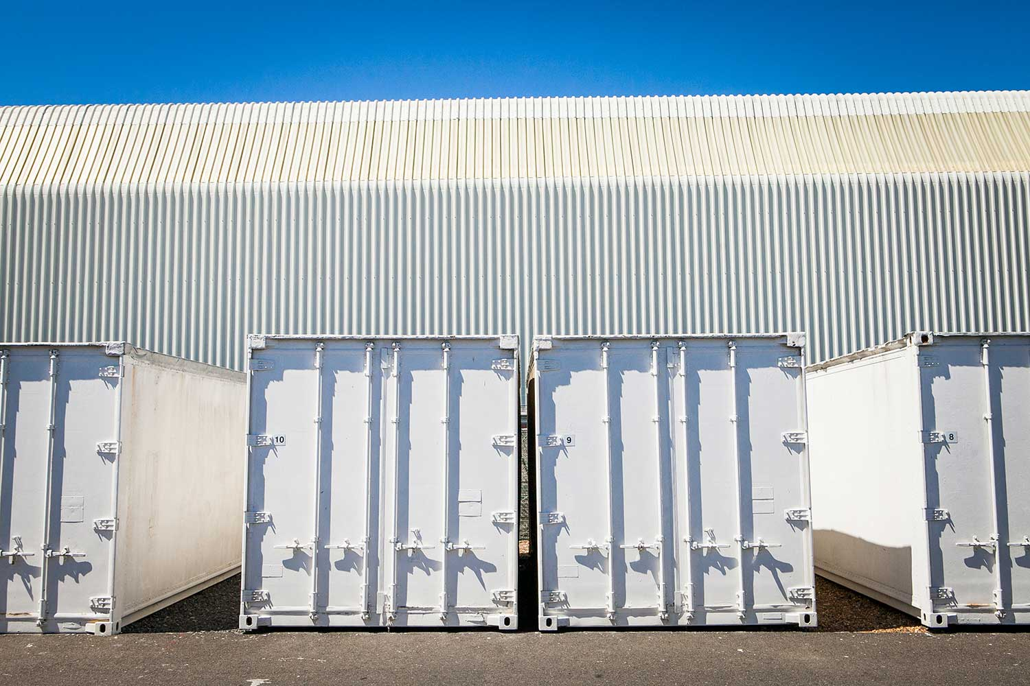 Shipping container storage space at XtraSpace Cape Town Airport