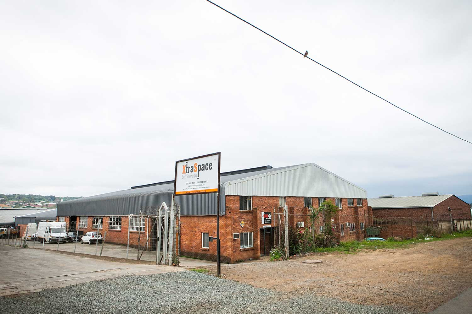 Street view of the XtraSpace Mkondeni self storage facility in Pietermaritzburg