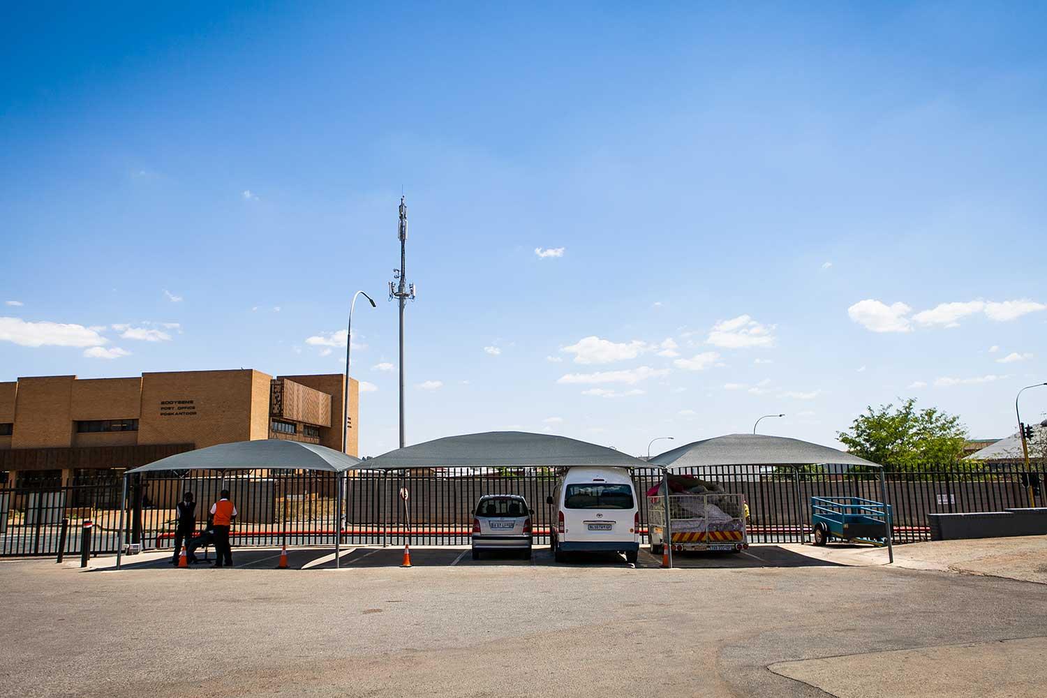 Car, trailer and caravan storage space at XtraSpace Booysens