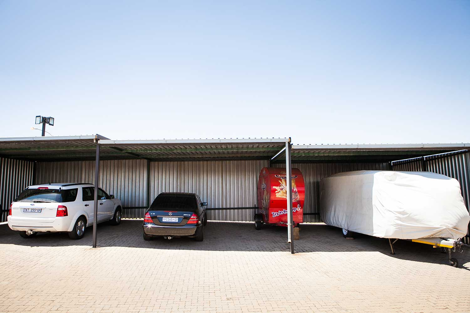 Car, caravan, trailer, truck and boat storage space at XtraSpace Brakpan