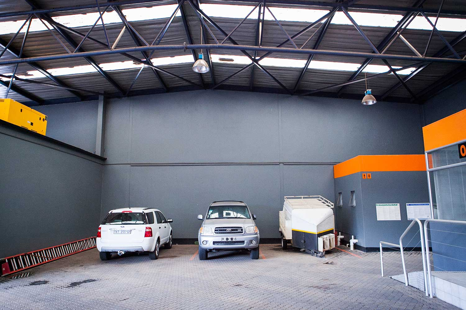 Car, trailer and caravan storage space at XtraSpace Commissioner Street