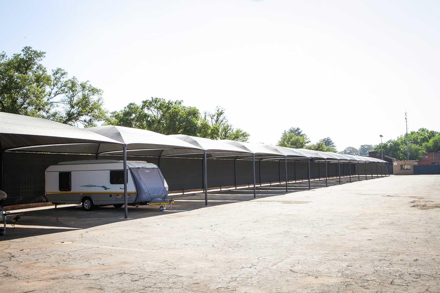 Car, trailer, caravan, truck and boat storage space at XtraSpace Vereeniging