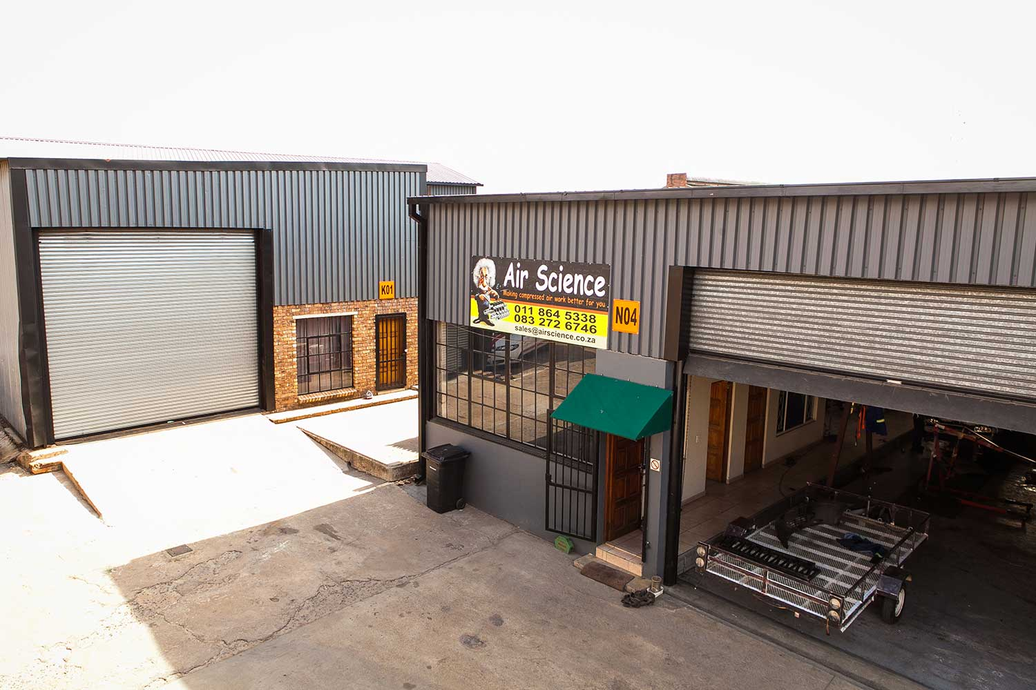 Warehouse for rent at XtraSpace Alberton Combrinck Street