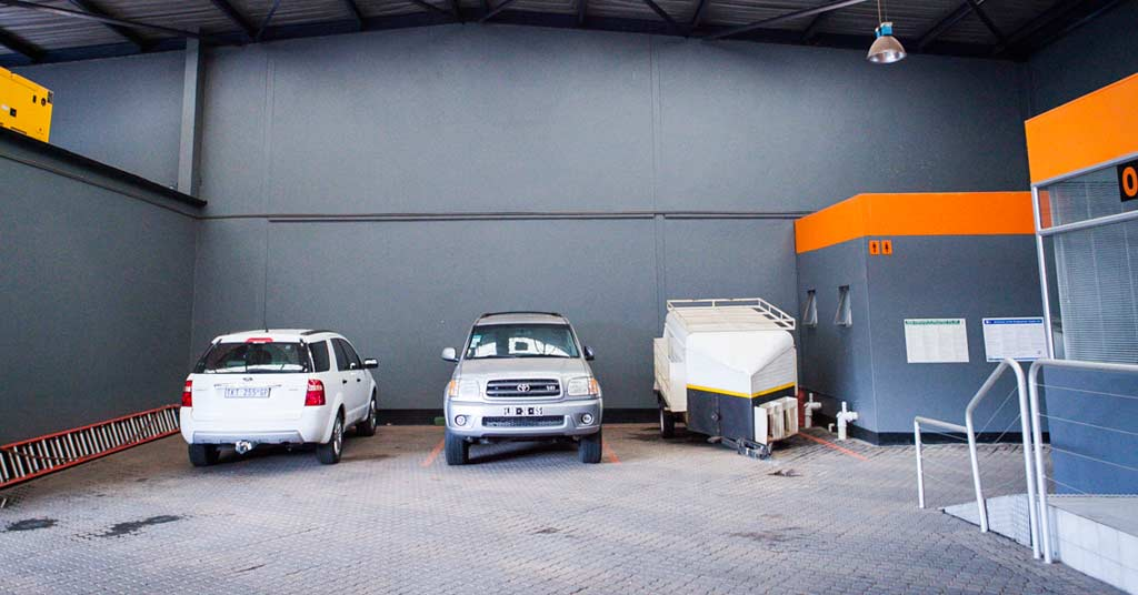 Car storage space