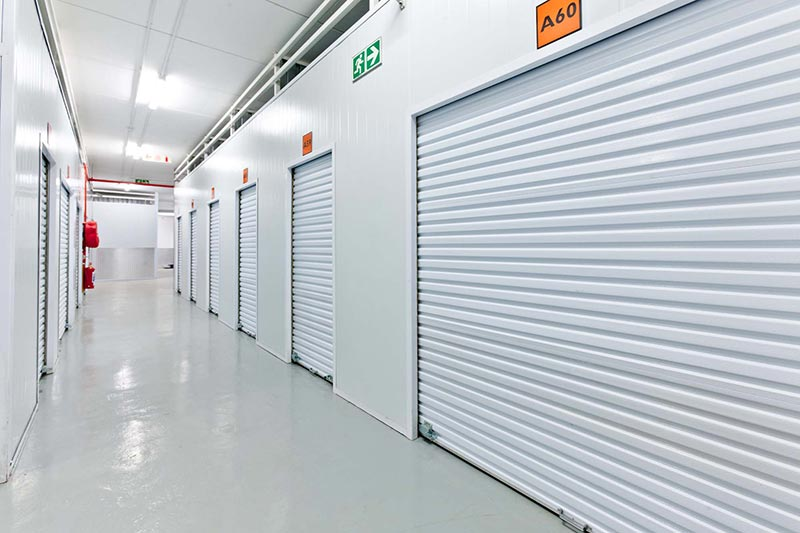 Storage units at XtraSpace Durban Central