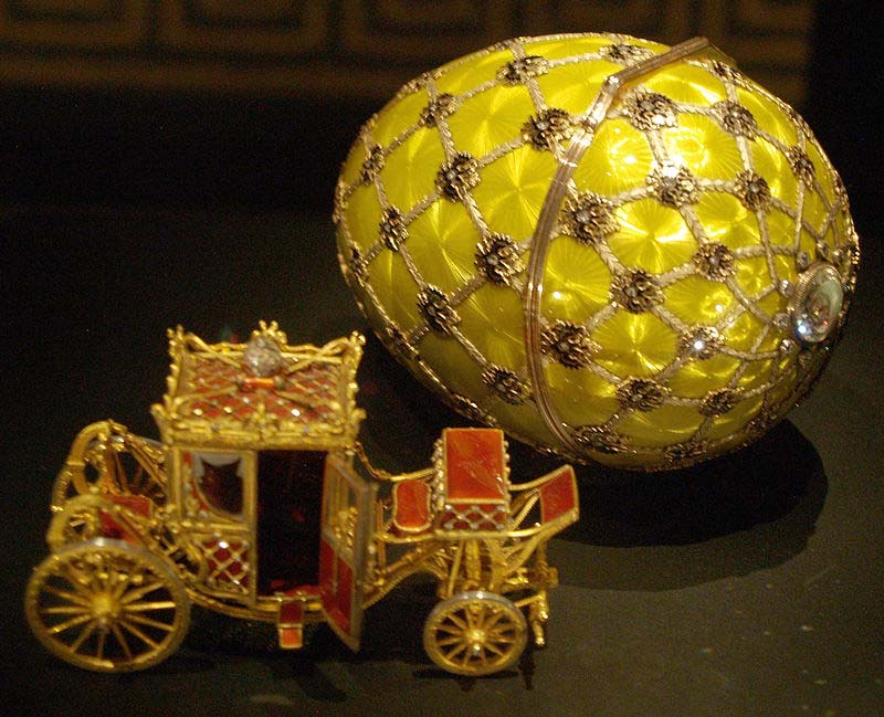 imperial coronation faberge egg