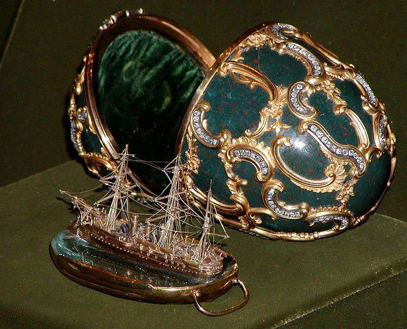 memory of azov faberge egg
