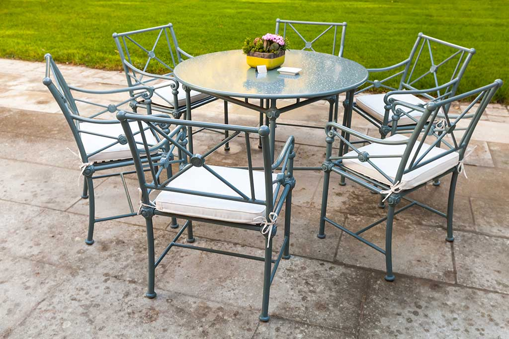 Superieur How To Clean And Maintain Metal Outdoor Furniture