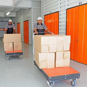 Business stock storage