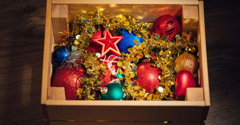 christmas storage box