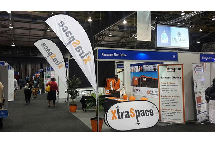 XtraSpace stand at the 2015 Durban Business Fair
