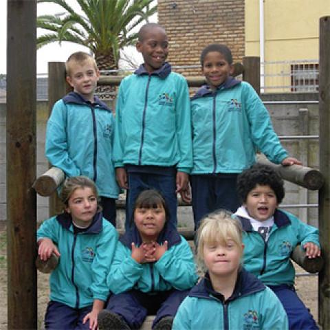 Chere Botha school children