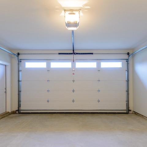 garage empty space room living