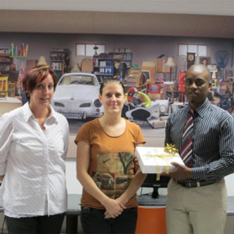 Karen Chapman XtraSpace iPad winner