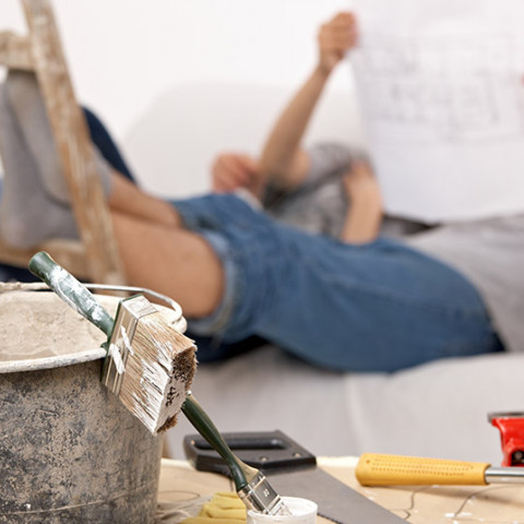minimise stress home renovations