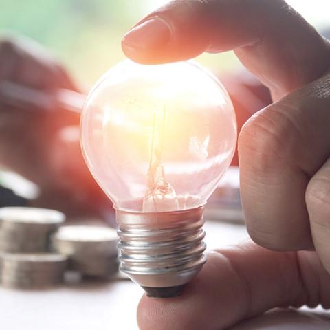 money saving ideas small medium businesses lightbulb