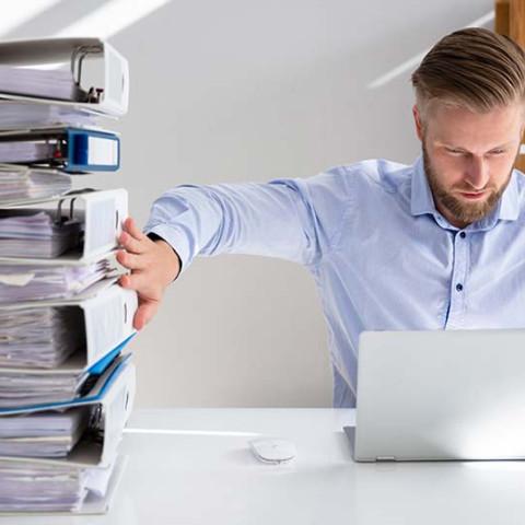 organising tax records
