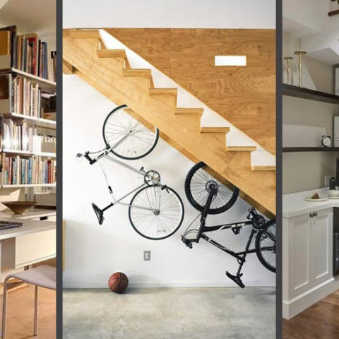 clever storage space small homes