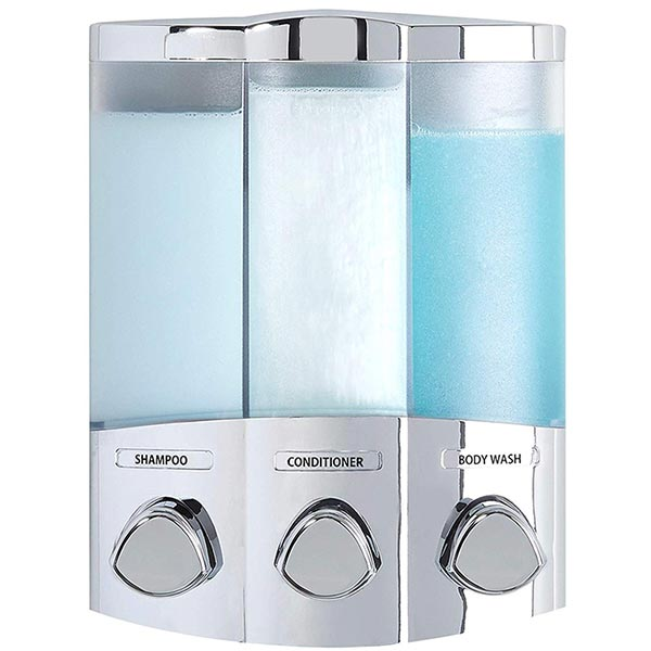 trio shower dispenser